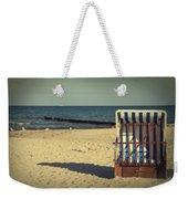 Beach Chair Weekender Tote Bag