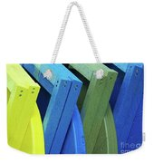 Beach Chair Palette 2 Weekender Tote Bag