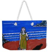 Beach Chic Weekender Tote Bag
