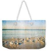 Beach Combers - Seagull Art By Sharon Cummings Weekender Tote Bag by Sharon Cummings
