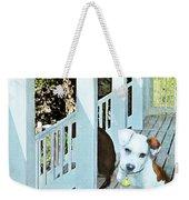 Beach Dog 1 Weekender Tote Bag