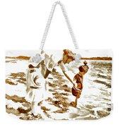 Beach Family  Weekender Tote Bag