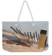 Beach Fencing Weekender Tote Bag