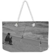 Beach Fishing Weekender Tote Bag