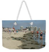 Beach Goers Weekender Tote Bag
