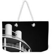 Beach Hotel Weekender Tote Bag by Dave Bowman