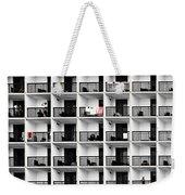 Beach Hotel Weekender Tote Bag