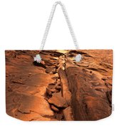 Beach House On Rocky Shore Weekender Tote Bag