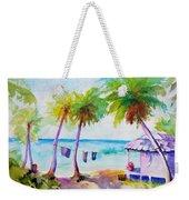 Beach House Tropical Paradise Weekender Tote Bag