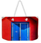 Beach Hut 12 Weekender Tote Bag