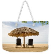 Beach Hut For Two Weekender Tote Bag