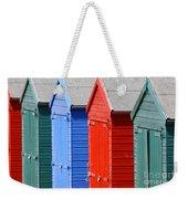 Beach Huts 3 Weekender Tote Bag