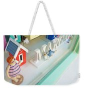 Beach Huts For Sale Weekender Tote Bag