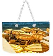 Beach In Cannes  Weekender Tote Bag by Elena Elisseeva