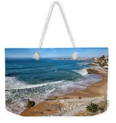 Beach In Resort Town Of Estoril Weekender Tote Bag