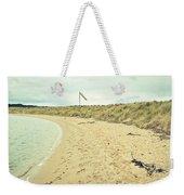 Beach In Scotland Weekender Tote Bag