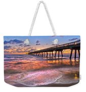 Beach Lace Weekender Tote Bag