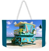Beach Life In Miami Beach Weekender Tote Bag