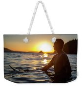 Beach Lifestyle Weekender Tote Bag