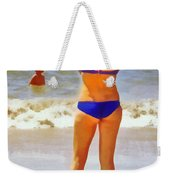 Beach Mom Weekender Tote Bag
