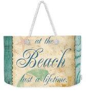 Beach Notes-a Weekender Tote Bag
