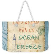 Beach Notes-c Weekender Tote Bag