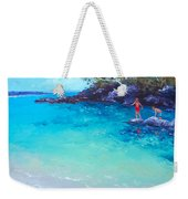 Beach Painting - A Day To Remember Weekender Tote Bag