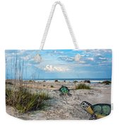Beach Pals Weekender Tote Bag by Betsy Knapp