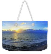 Beach Panorama Weekender Tote Bag