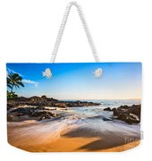 Beach Paradise - Beautiful And Secluded Secret Beach In Maui. Weekender Tote Bag