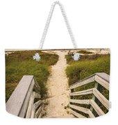 Beach Path Weekender Tote Bag by Adam Romanowicz
