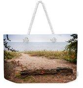 Beach Path Weekender Tote Bag