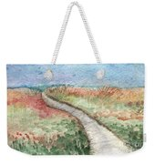 Beach Path Weekender Tote Bag by Linda Woods