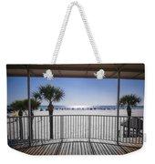 Beach Patio Weekender Tote Bag