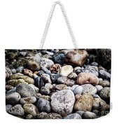 Beach Pebbles  Weekender Tote Bag by Elena Elisseeva