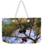 Beach Pine Weekender Tote Bag
