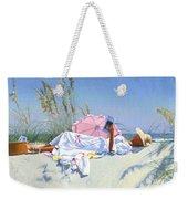 Beach Recliner Weekender Tote Bag