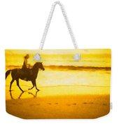 Beach Rider Weekender Tote Bag