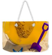 Beach Sand Pail And Shovel Weekender Tote Bag