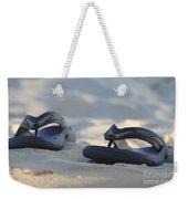 Beach Sandals 3 Weekender Tote Bag