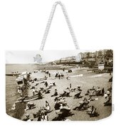 Beach Sean France  Circa 1900 Weekender Tote Bag