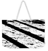 Beach Shadows Weekender Tote Bag