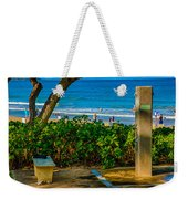Beach Shower Weekender Tote Bag