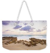 Beach Sunrise At Jupiter Island Florida Weekender Tote Bag