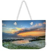 Beach Sunset Weekender Tote Bag