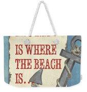 Beach Time 2 Weekender Tote Bag