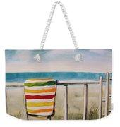 Beach Towel Weekender Tote Bag