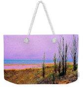 Beach Trees Weekender Tote Bag