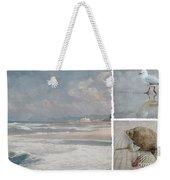 Beach Triptych 1 Weekender Tote Bag