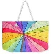 Beach Umbrella 2 Weekender Tote Bag